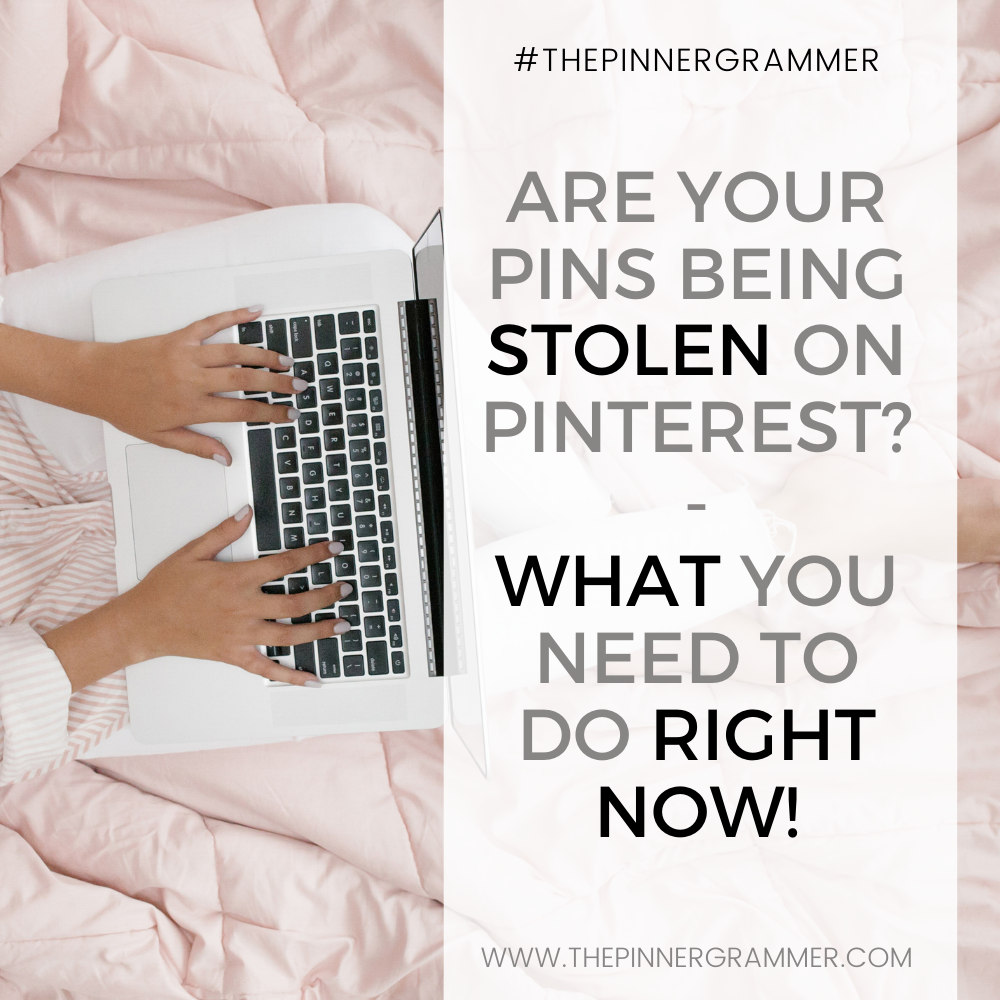 How do I stop people stealing my images on Pinterest?